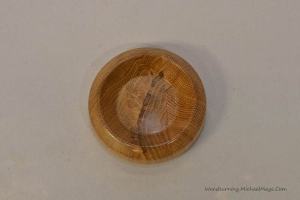Oak coin dish 1