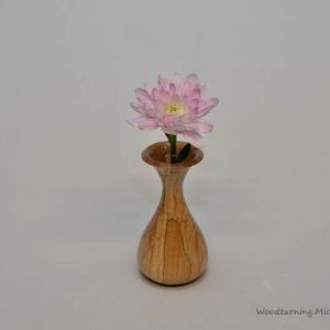 Spalted Beech bud vase 1