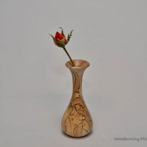 Spalted Beech bud vase 2