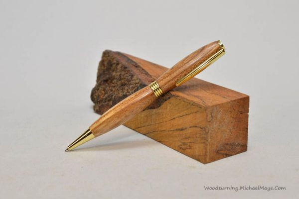 Elm streamline gold pen