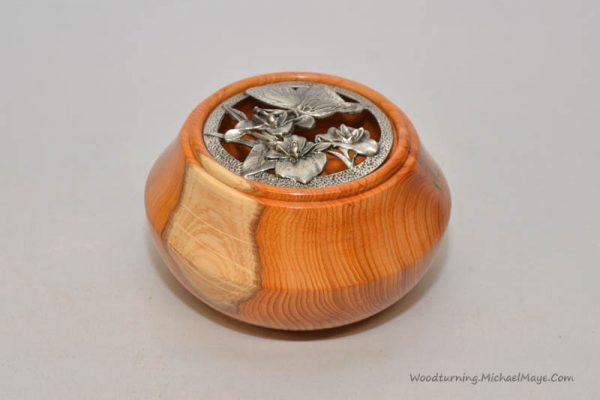 Yew Potpourii bowl