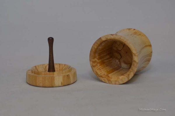 Beech ring box