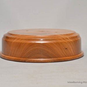 Elm trophy plinth base