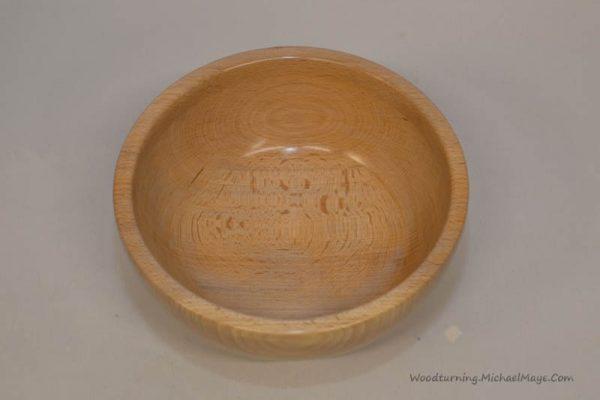 Beech bowl 7 x 3